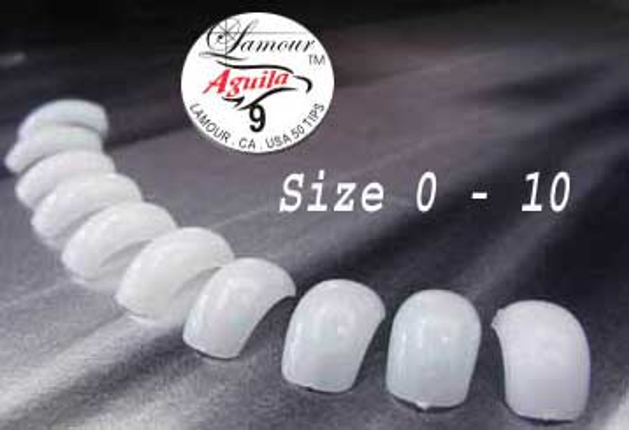 Lamour Super Curve Aguila Tips - 50ct/bag