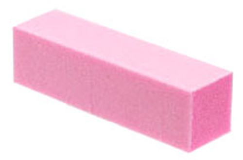 Pink Nail Buffer - 4 Way - Grit 120