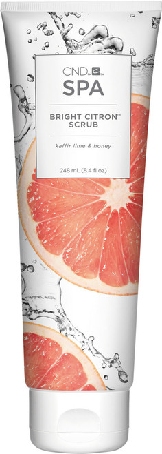 CND Spa Bright Citron Scrub - 8.4 oz (248 mL)