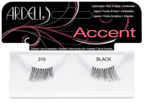 Ardell Accent Lashes - 315 Black