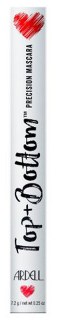 Ardell Beauty Top & Bottom Precision Mascara Ebony - 0.25 oz / 7.2 g
