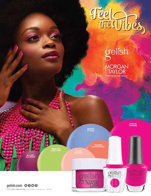 Gelish Trio Summer 2021 Feel The Vibes Collection - Open Stock