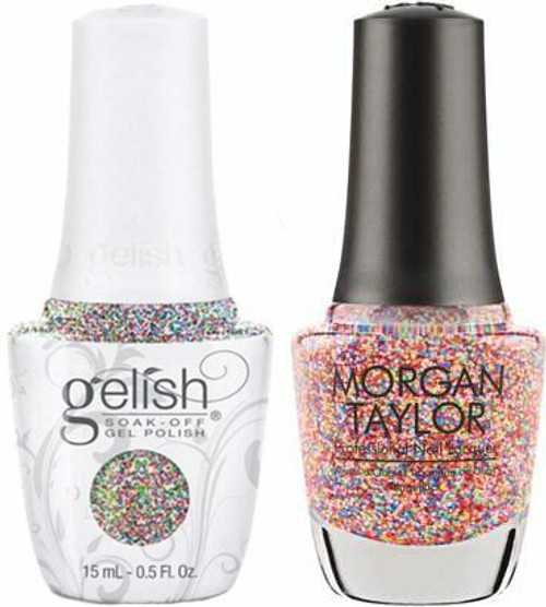 Gelish Two of a Kind Lots of Dots - .5 Oz / 15 mL