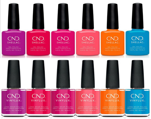 CND Shellac Summer 2021 Summer City Chic Collection - Duo Set