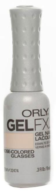 Orly Gel FX Soak-Off Gel Rose-Colored Glasses - .3 fl oz / 9 ml