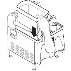 Cleaning a Bunn Ultra-2 step 16