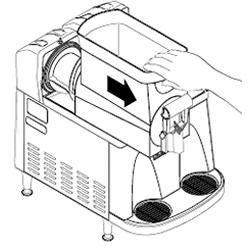 Cleaning a Bunn Ultra-2 step 2