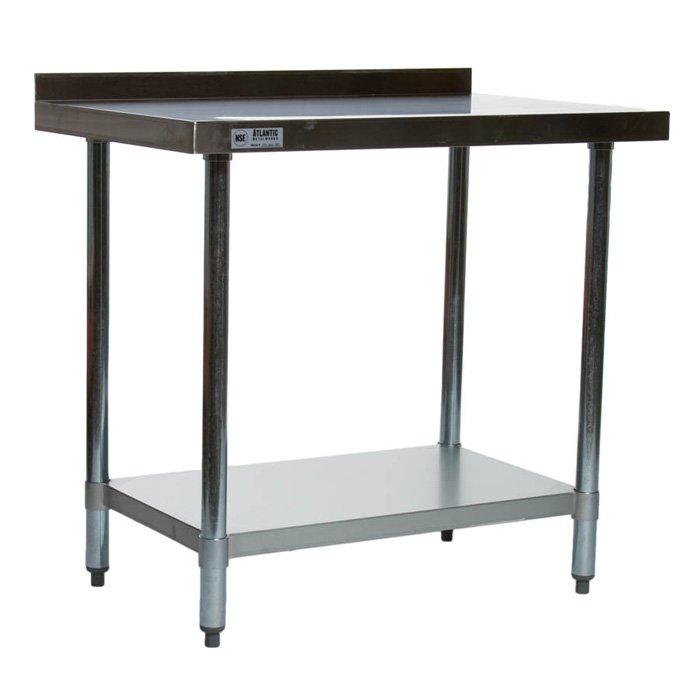 Image of Atlantic Metalworks STT-2436-2BS - 24x36 Economy Stainless Steel Work Table