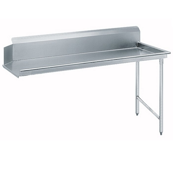 """Image of Advance Tabco DTC-S60-36 - 35"""" Supersaver Dishtable - Clean Side"""