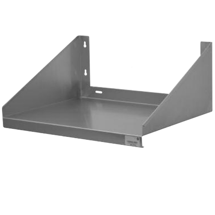 """Image of Advance Tabco 24"""" x 24"""" Wall Mounted Microwave Shelf - MS-24-24"""