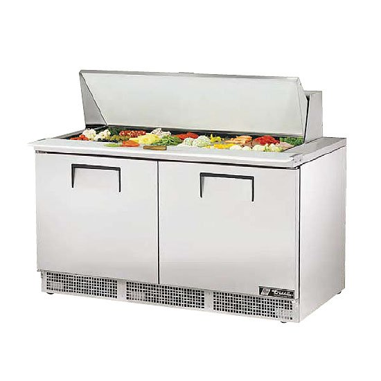 Picture of a True Refrigerated Food Prep Table
