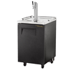 True TDD-1-HC Kegerator Direct Draw Beer Dispenser - 1 Keg - Black