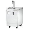 True TDD-1-HC Kegerator Direct Draw Beer Dispenser - 1 Keg - Stainless