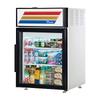 True GDM-05-HC-LD Countertop Glass Swing Door Merchandiser