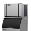 Ice-O-Matic Elevation Series CIM0530HA 520 lbs./day Modular Cube Ice Maker - Air Cooled with bin