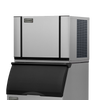 Ice-O-Matic Elevation Series CIM0430HW 460 lbs./day Modular Cube Ice Maker - Water Cooled with bin