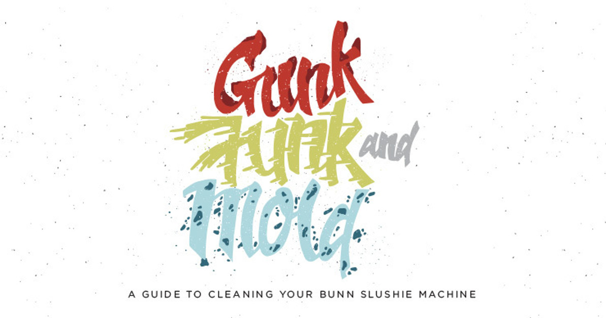 Gunk, Funk and Mold: A Guide to Cleaning Your Slushy Machine