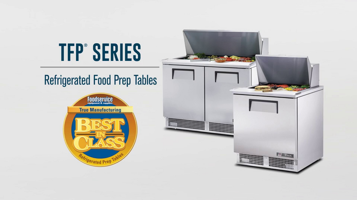 Video Overview | True Refrigerated Food Prep Tables