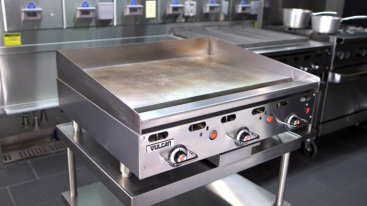 Product Maintenance   Cleaning and Operating Vulcan 900RX Series and MSA Series Griddles
