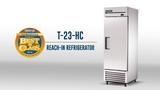 Video Overview | True T-23-HC Solid Door Refrigerator