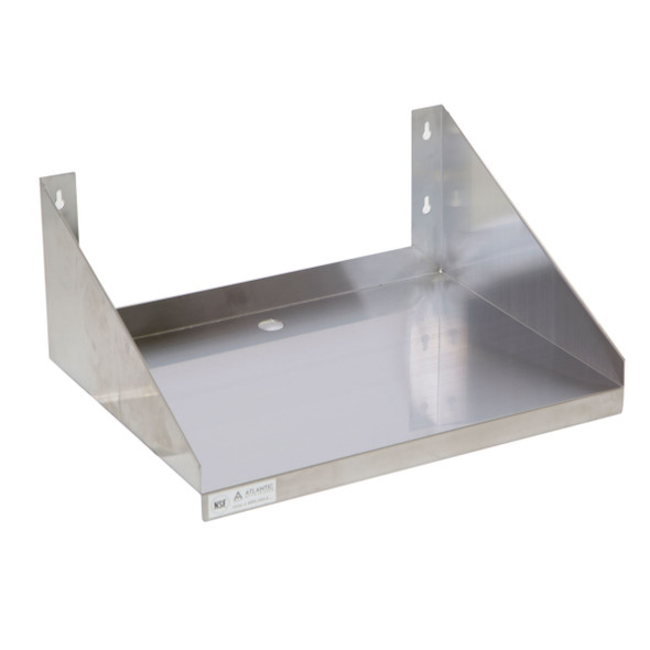 Atlantic Metalworks MWS-1824-E Economy Microwave Wall Shelf
