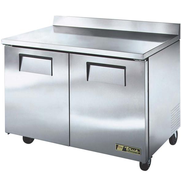 "TWT-48-HC True 48"" 2 Door Worktop Refrigerator with Hydrocarbon Refrigerant"