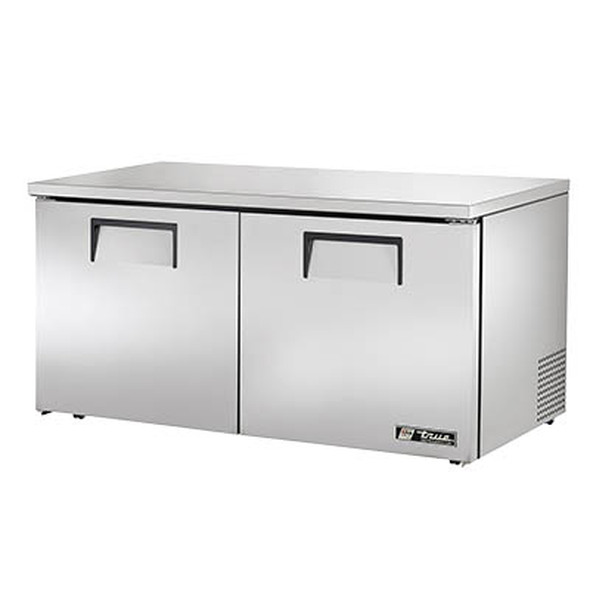 True TUC-60-LP-HC - 60-Inch Low-Profile Hydrocarbon Undercounter Refrigerator