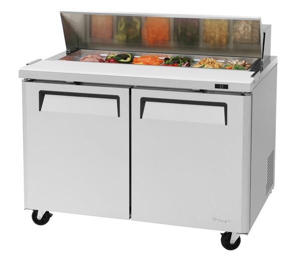 "Turbo Air MST-48-N - 48"" Sandwich/Salad Prep Table"