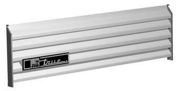 "True 879378 Black Front Grill Assembly - 47 9/16"" Wide by 11 1/4"" Tall"