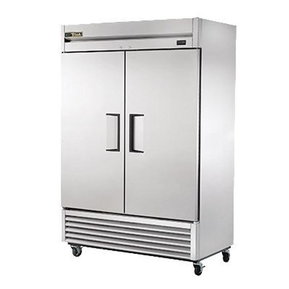 TS-49-HC True 49 Cu. Ft. Stainless Steel 2 Solid Door Refrigerator