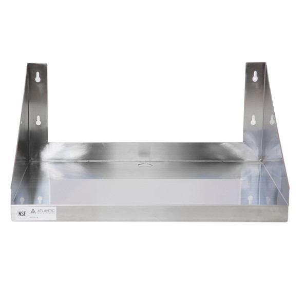 Atlantic Metalworks MWS-2424-E Economy Microwave Wall Shelf