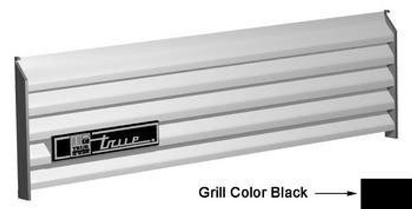 Image of the True 879380 black front grill cover