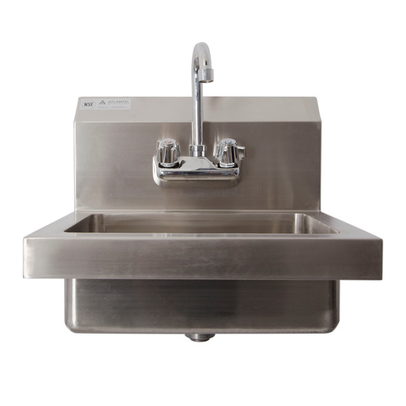 Atlantic Metalworks Basic Splash and Wall Mount Hand Sink