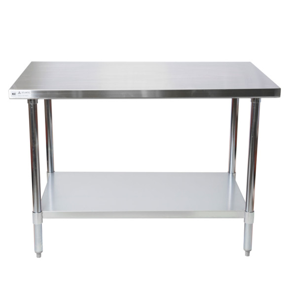 Atlantic Metalworks STT-3048-E Stainless Steel Work Table