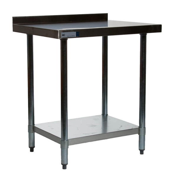 "Atlantic Metalworks Stainless Steel Commercial Work Table 24"" x 30"""