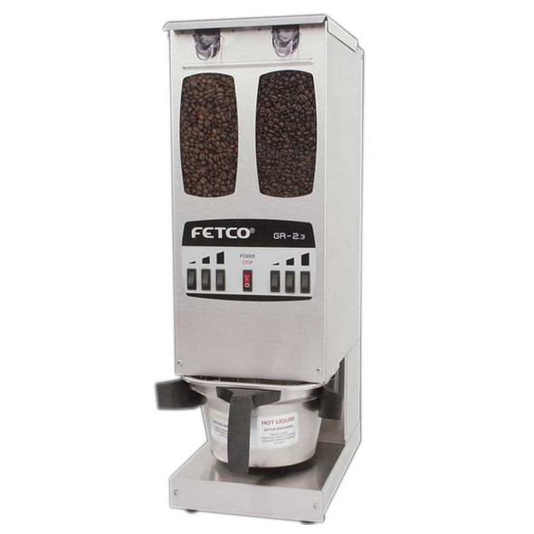 Fetco GR-2.3 - Portion Controlled Coffee Grinder - Dual Hopper
