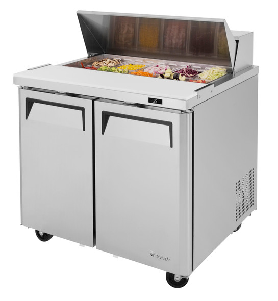 "Turbo air - MST-36-N6 - 36"" Sandwich/Salad Prep Table"