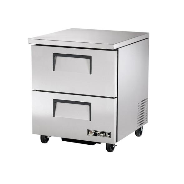True TUC-27F-D-2-HC 27 Inch 2 Drawer Undercounter Freezer with Hydrocarbon Refrigerant