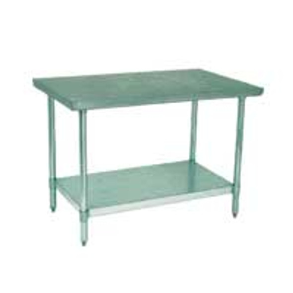 """BK Resources VTT-3024 - 30"""" x 24"""" BK Resources Stainless Steel Table"""