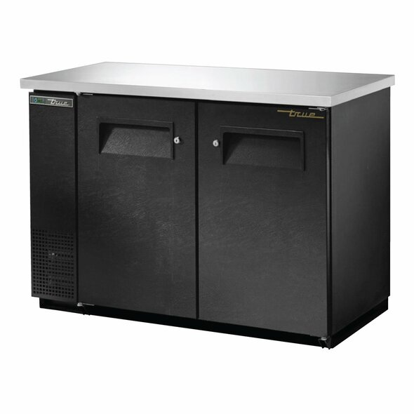 True TBB-24-48-HC Back Bar Cooler from the front