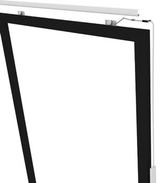 Image of the True 936124 top hung door assembly