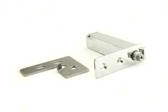 Image of hinges only in the True 870837 door hinge kit by Kason (1556-570-54)