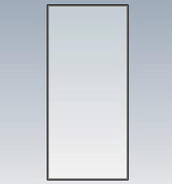GLASS INSERT, GDM-41, G4SM-23/ GEM SIDE 20 x 49 7/8 INCLUDES GLASS INSERT & 1 ROLL OF TWO SIDED TAPE FOR INSTALLATION