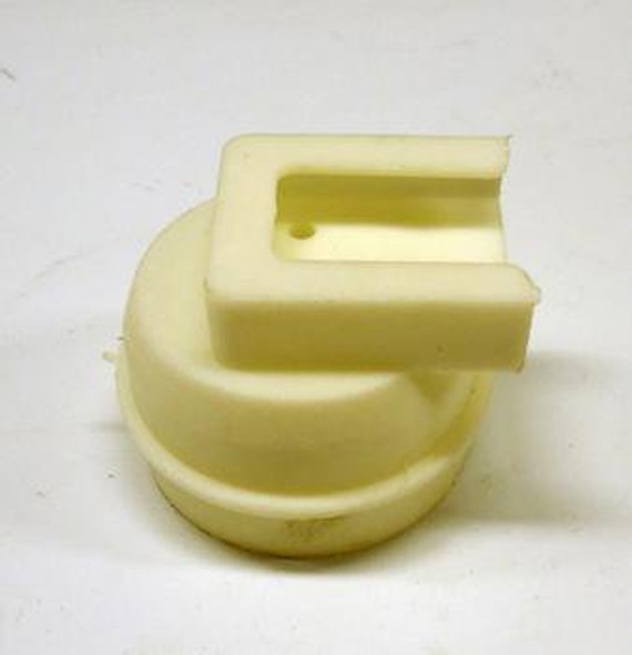Image of one lampshield end cap in the True 801221 lampshield cap