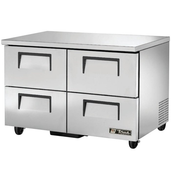 "TUC-48F-D-4-HC True 48"" 4 Drawer Undercounter Freezer"