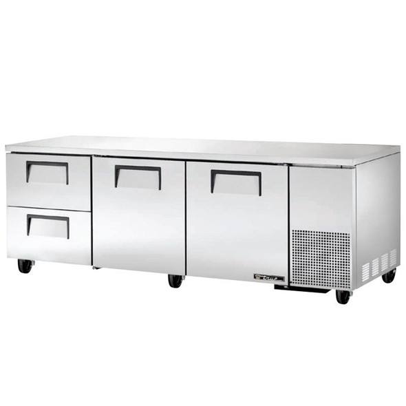 "TUC-93D-2 True 93"" 2 Drawer Undercounter Refrigerator"