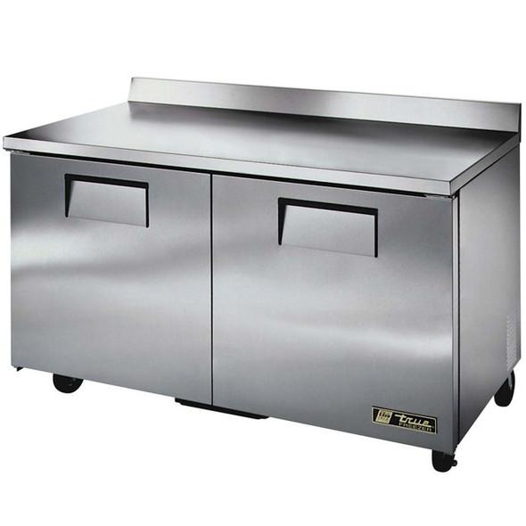 """TWT-60F True 60"""" 2 Door Worktop Freezer"""