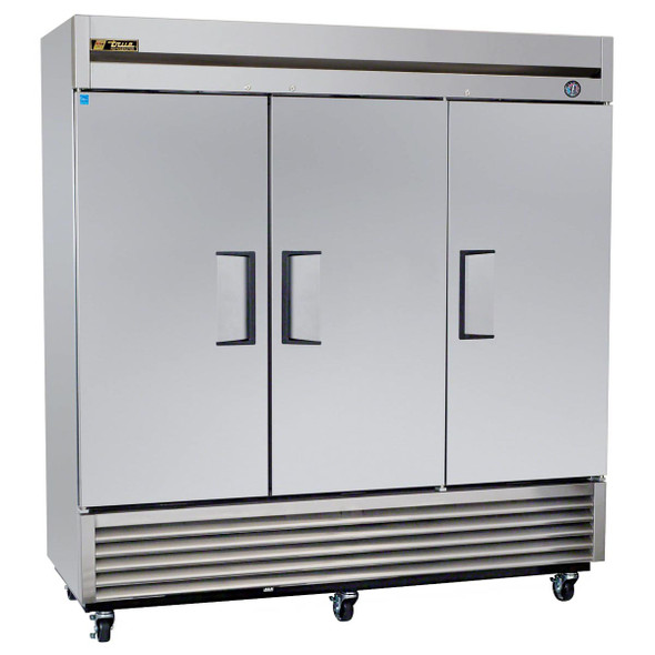T-72F-HC True 72 Cu. Ft. 3 Door Freezer