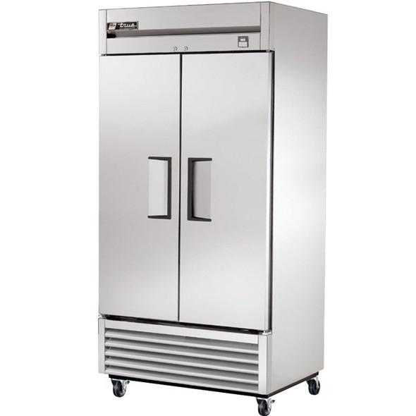 TS-35 True 35 Cu. Ft.  Stainless Steel 2 Solid Door Refrigerator