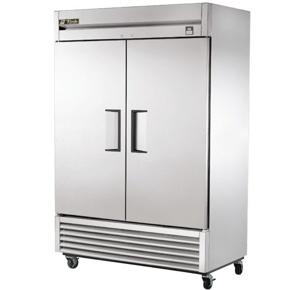 TS-49F True 49 Cu. Ft. Stainless Steel 2 Door Freezer